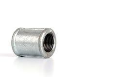 Garnitures de tuyauterie de fonte malléable - raccord images libres de droits