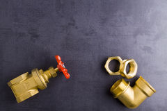 Garnitures en laiton Image stock
