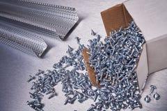 Garnitures pour des travaux de construction Image stock