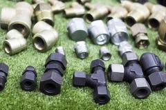 Garnitures pour des tuyaux Images stock