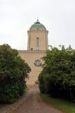 Garnizoenkerk in de overzeese vesting van Suomenlinna Stock Afbeeldingen