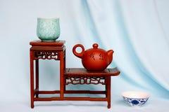 garnka purpur piaska herbata Zdjęcia Royalty Free