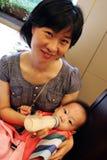 Garçon coréen d'anniversaire Images libres de droits