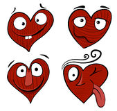 Garçon de dessin animé de Valentine Photo stock