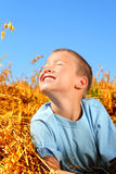 Garçon heureux Photographie stock