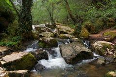 Garona Fluss in Spanien Lizenzfreie Stockfotografie