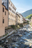 Garona river Stock Image