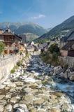 Garona river Royalty Free Stock Photos