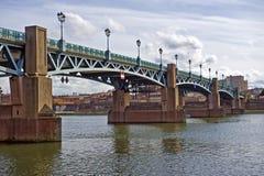 Garona a Toulouse Fotografie Stock