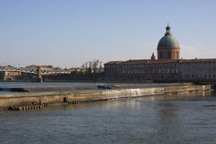 The Garonne, Toulouse Stock Images