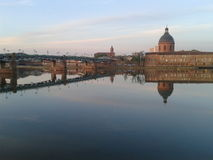 The Garonne in Toulouse Royalty Free Stock Photos