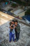 Garçons indiens Photographie stock