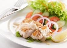 Garoupa cuit au four Photo stock