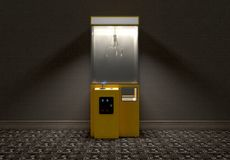 Garra Arcade Game In Room Imágenes de archivo libres de regalías