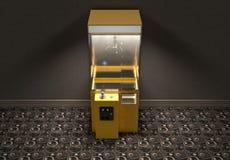 Garra Arcade Game In Room Ilustração Royalty Free