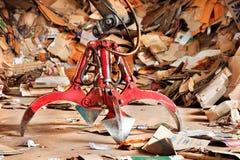 Garra industrial vieja Foto de archivo libre de regalías