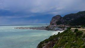 Garraf κοντά στη Βαρκελώνη, Costa de Garraf, Καταλωνία απόθεμα βίντεο