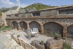 Garraf-Sitges,Catalonia,Spain. Royalty Free Stock Photos