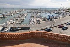 Garraf-Sitges,Catalonia,Spain. Port marina in Garraf, Sitges, province Barcelona, Catalonia Royalty Free Stock Image
