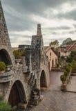 Güell Cellar - Garraf, Barcelona Spain. GARRAF, SPAIN - OCTOBER 11, 2016: Gaudi Garraf in the Catalonia, Spain Royalty Free Stock Image
