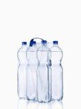 Garrafa de água plástica Fotografia de Stock Royalty Free