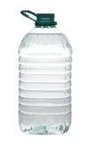 Garrafa de água plástica isolada Fotografia de Stock