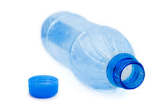 Garrafa de água vazia imagens de stock royalty free