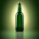Garrafa de cerveja Fotos de Stock Royalty Free
