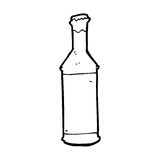 garrafa de cerveja dos desenhos animados Foto de Stock