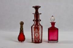 Garrafa de perfume antiga 19 século Fotos de Stock