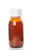 Garrafa de vidro com medicina Foto de Stock Royalty Free