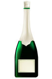 Garrafa do champanhe Ilustração Stock