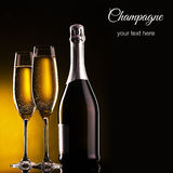 Garrafa do champanhe Imagens de Stock Royalty Free