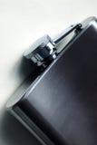 Garrafa do metal fotografia de stock