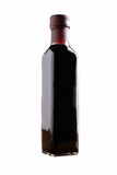 Garrafa do vinagre balsâmico Imagens de Stock