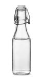Garrafa do vinagre branco destilado imagem de stock