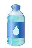 Garrafa dos desenhos animados da água Fotos de Stock Royalty Free