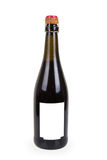 Garrafa fechado do vinho tinto Fotografia de Stock