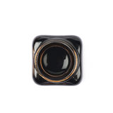 Garrafa minúscula enchida com o de tinta preta Imagem de Stock Royalty Free
