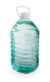 Garrafa plástica de cinco litros da água pura Fotografia de Stock