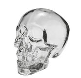 Garrafa principal de cristal foto de stock