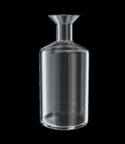 Garrafa química vazia modelo 3d isolado Fotografia de Stock Royalty Free