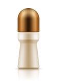 Garrafa realística com desodorizante do roll-on Foto de Stock Royalty Free
