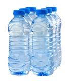 Garrafas da água fotografia de stock