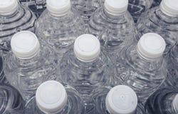 Garrafas da água de cima de Fotografia de Stock Royalty Free