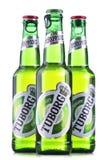 Garrafas da cerveja de Tuborg Foto de Stock
