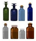 Garrafas da medicina Imagem de Stock Royalty Free