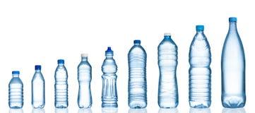 Garrafas de água Imagens de Stock