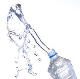 Garrafas de água plásticas Imagens de Stock