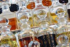Garrafas de /Attar do perfume fotos de stock